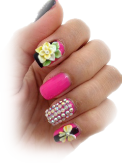 3-D Nails By Your Nails and Spa Phoenix
